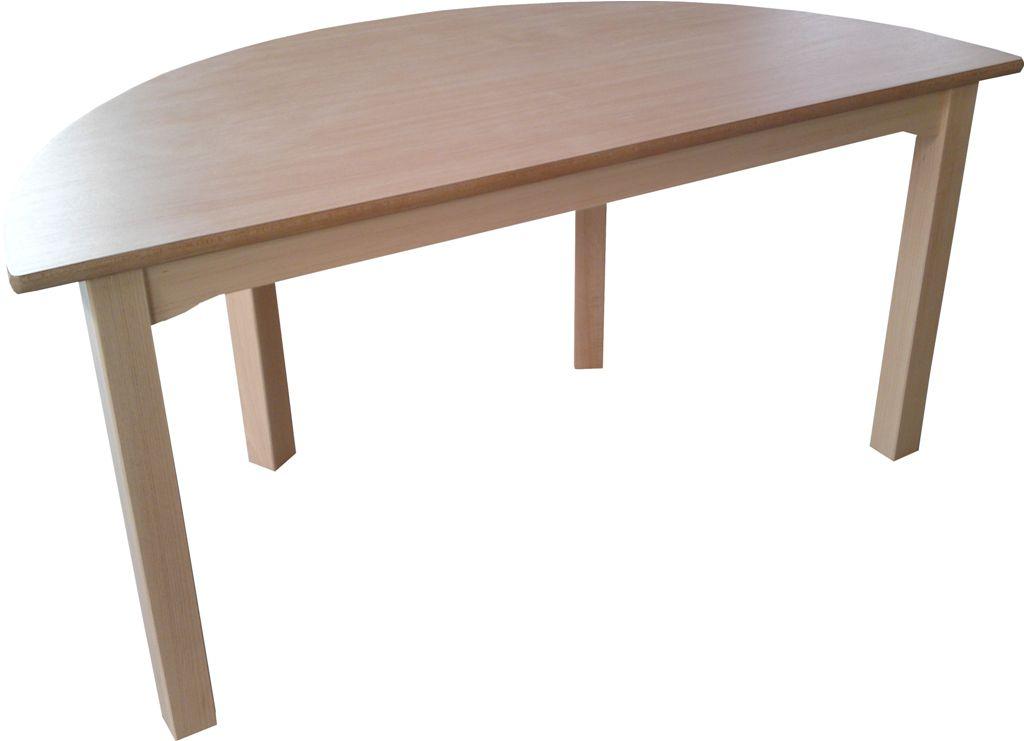 kitatraum tisch halbrund. Black Bedroom Furniture Sets. Home Design Ideas
